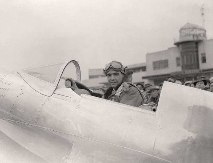 Hughes Before Take-Off