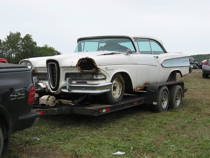 Edsel on Trailer