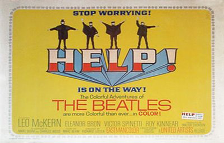 Help movie poster