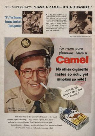 Camel phil silvers
