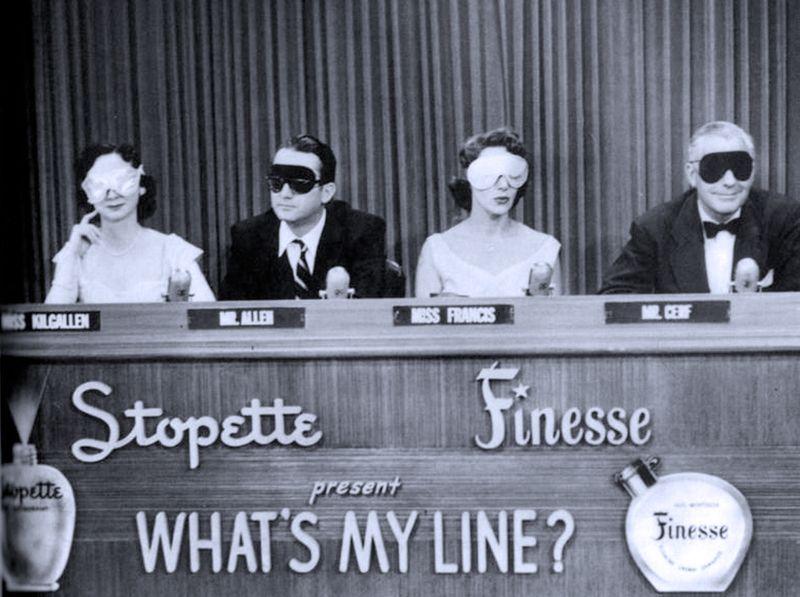 Dorothy Kilgallen_ Steve Allen_ Arlene Francis _amp_ Bennett Cerf on WHAT_S MY LINE