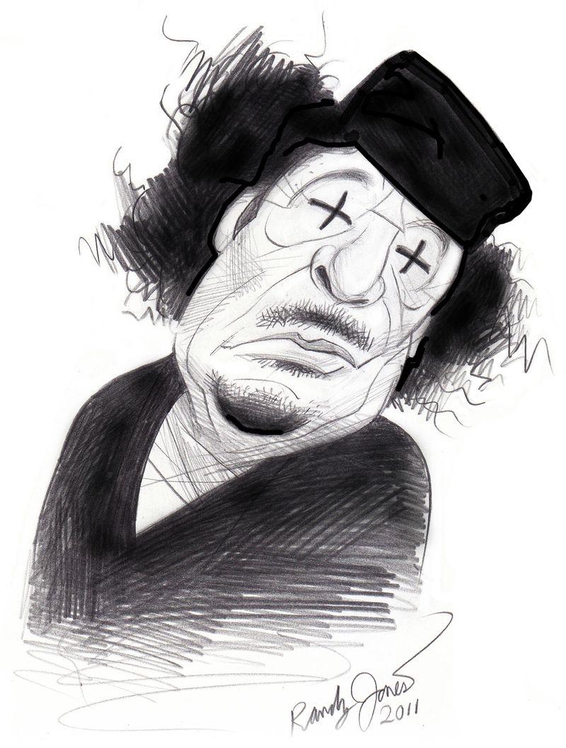 Gaddafi Black copy